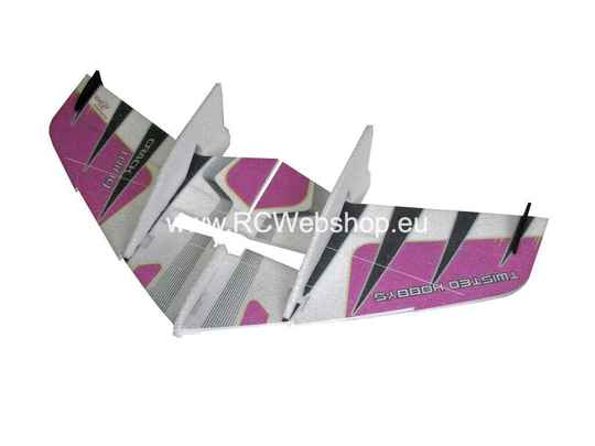 RC Factory Crack Wing F01 Purple 750mm span EPP kit *