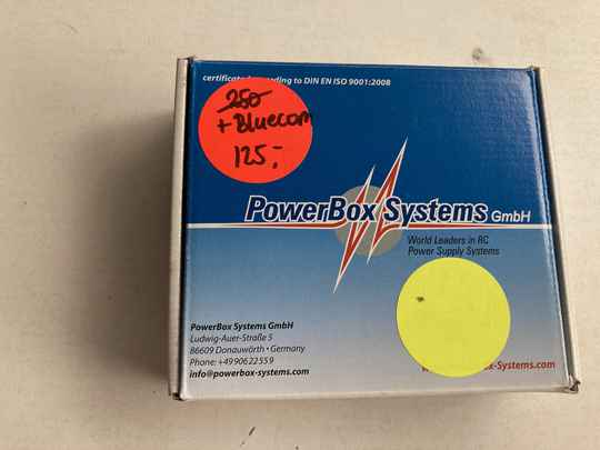 Used Reciever acc Powerbox 3600 iGyro 3E + Bluecon
