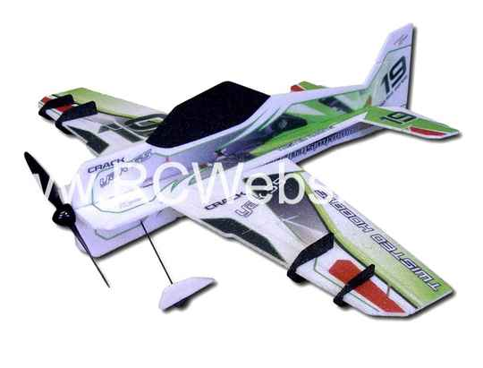 RC-Factory Crack Yak (Superlite) S01 Green 800mm span EPP kit *
