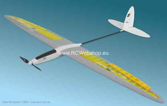 Aeronaut Plane Triple Neo Speed 1.810mm Span E-glider # 112803 ***