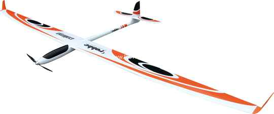 Robbe CALIMA PNP HIGH PERFORMANCE GLIDER + 4-FLAP WINGS +servo's 3.800mm Span #2640 *