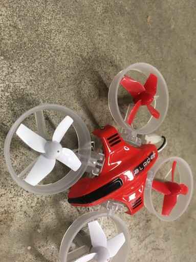 Used Plane Drone Hoovercraft E-Flite Inductrix 3-in-1 #200612