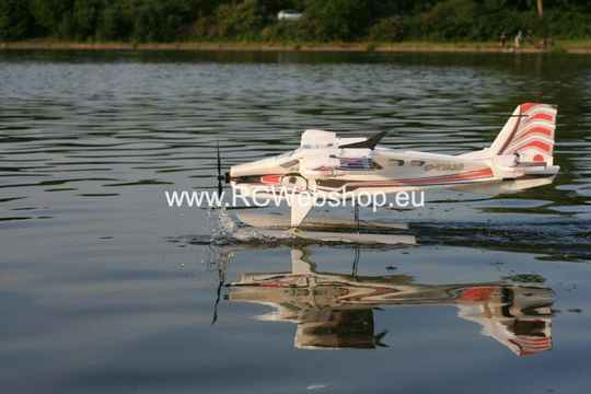 RC-Factory Crack Turbo Beaver Waterplane T00 Red 880mm span + Floats SP33 *