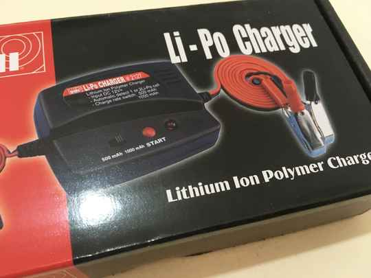 LiPo Li-IOn charger lader 1S 2S