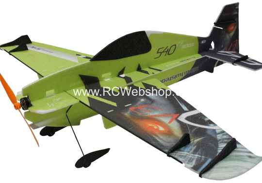 RC-Factory Edge 540 V3 (Superlite) S10 Green 840mm span EPP kit *