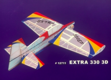 Model airplane Extra 330 3D - 776 mm KIT new