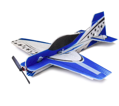 3D indoor parkflyer epp foam blue model KIT 1010E