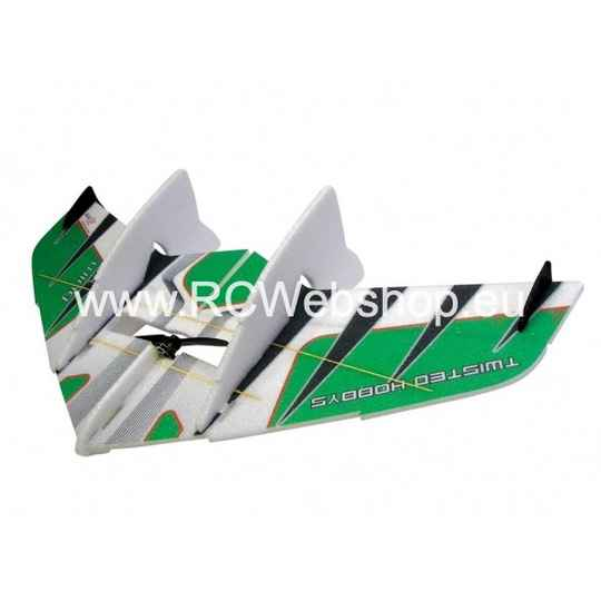 RC-Factory Crack Wing F06 Green 750mm span EPP kit