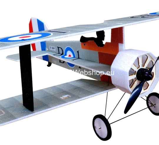 RC-Factory Crack Camel L13 Silver 875mm span bi-plane EPP kit *