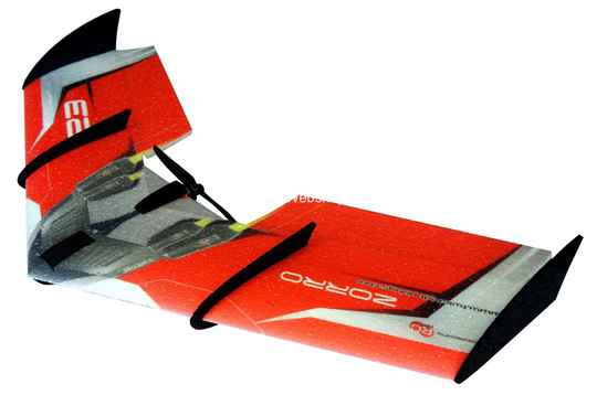 RC Factory Zorro Wing F09 Red 900mm span EPP kit *