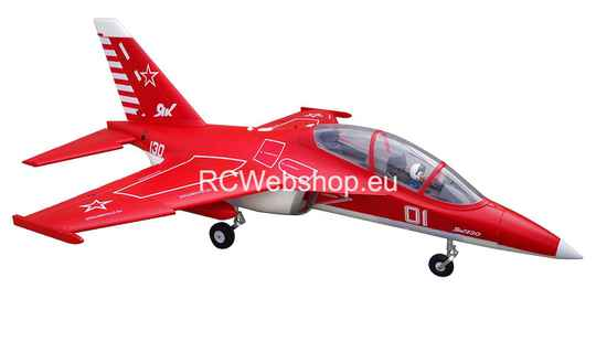 FMS Jet 70mm EDF V2 Yak 130 Red PNP kit 880mm Span FMS108RE *