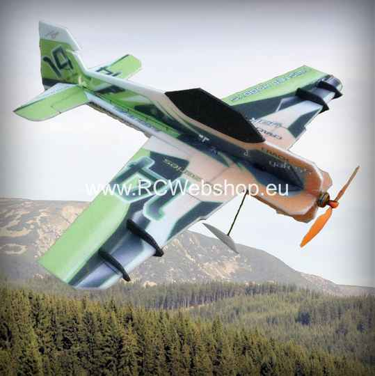 RC-Factory Crack Yak LITE L03 Green/Orange 800mm span EPP kit *