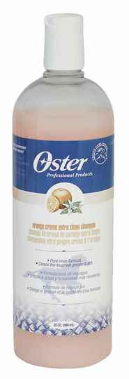 Oster sinaasappel crème shampoo, paard, concentraat 12:1