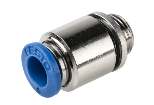 Festo Pusch in 6MM for 6mm Hose) G1/8