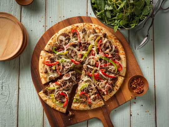 Pizza Beef Spicy
