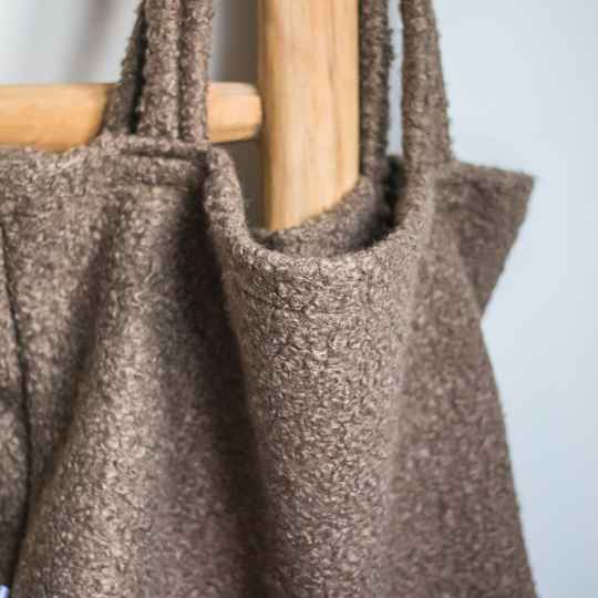 Boucle Taupe
