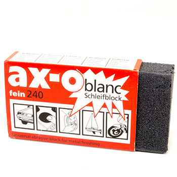 Abrasive Block for Metal Finishing