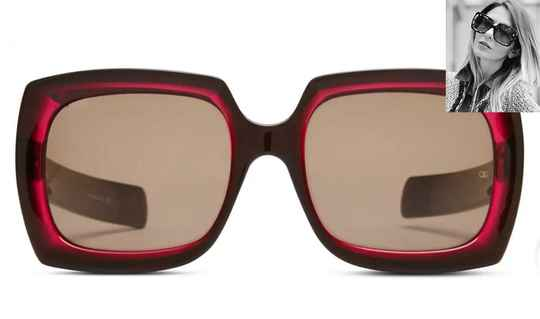 Oliver Goldsmith Fuz Black & Cherry