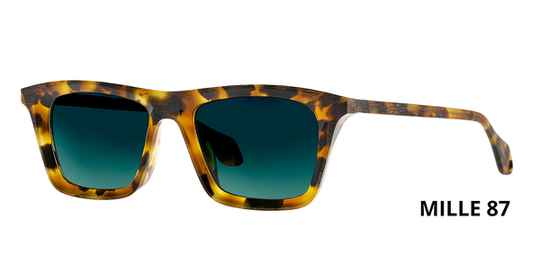 THEO MILLE +87 HAVANA  BROWN DALMATIAN LIMITED EDITION