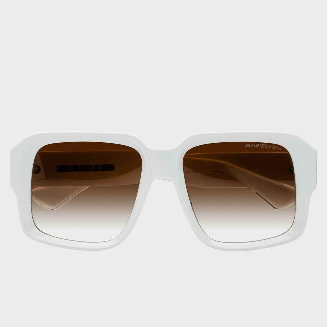 Cutler and Gross Sunglasses 1388 Limited Edition Grace White