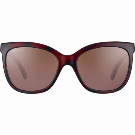 Serengeti Agata Shiny Red Tortoise Polarized Divers Gradient 8969