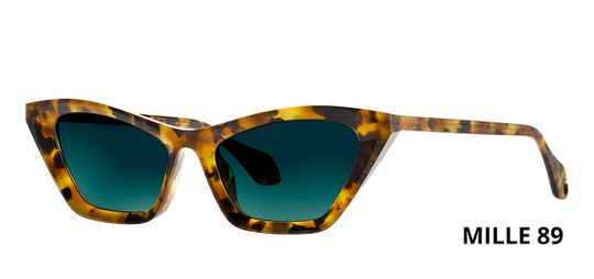 THEO MILLE +89 HAVANA  BROWN DALMATIAN LIMITED EDITION