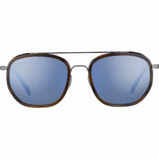 Serengeti Boron Shiny Gunmetal Brown Buffalo Polarized Blue SS525002