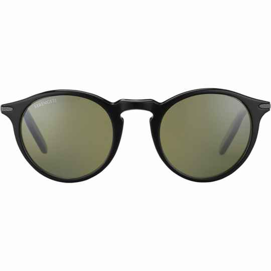 Serengeti Raffaele Shiny Black Polarized 8950