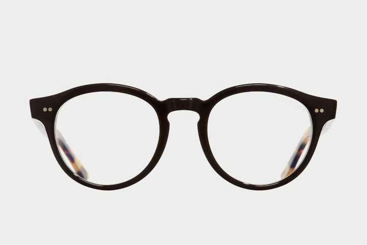 Cutler and Gross 1378 02, Black on Camouflage