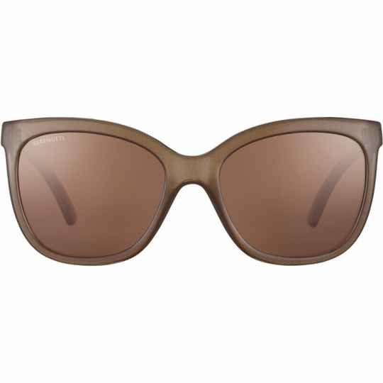 Serengeti Agata Shiny Espresso Polarized Drivers 8970