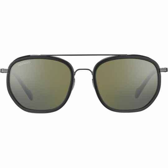 Serengeti Boron Shiny Dark Gunmetal Black Shiny Polarized SS525004