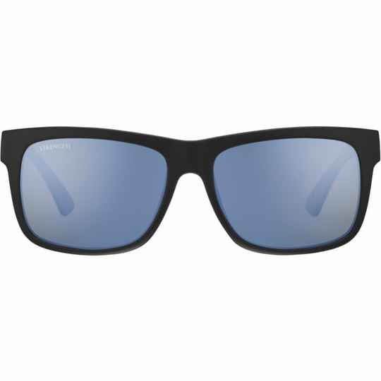 Serengeti Positano Matte Black Polarized Blue 8982