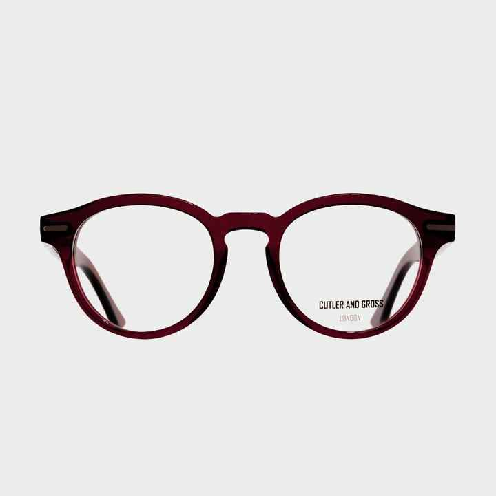 Cutler and Gross 1338 Bordeaux Red