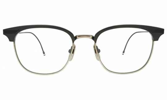 THOM BROWNE 104A BLACK IRON 12K GOLD