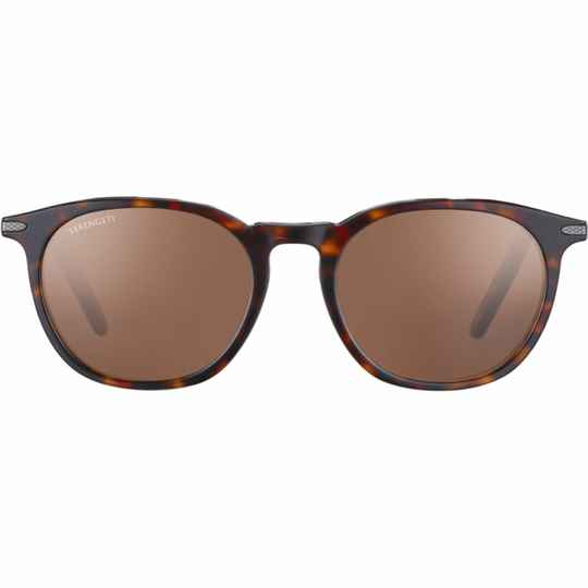 Serengeti Arlie Shiny Dark Havana Polarized Drivers 8937