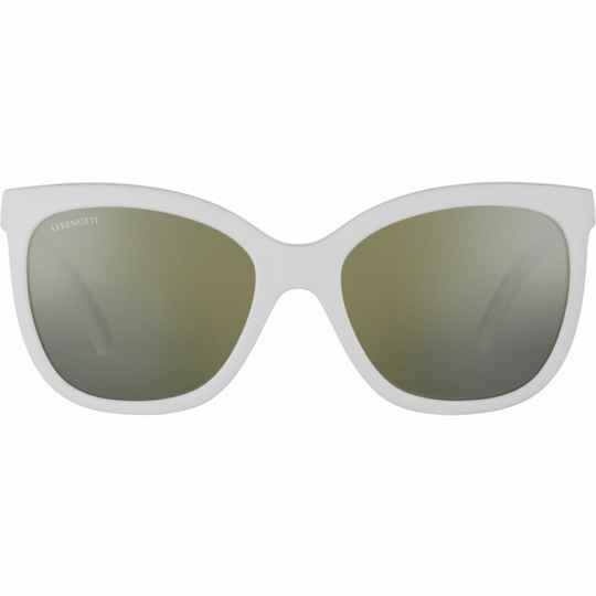 Serengeti Agata Matte White Polarized SS001001