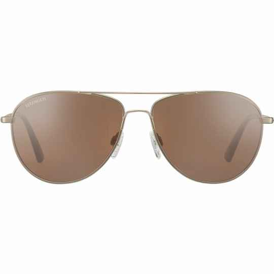 Serengeti Alghero Matte Soft Gold Polarized Drivers Gold 8315