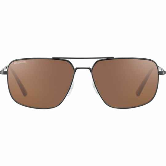 Serengeti Agostino Shiny Gunmetal Polarized 8824