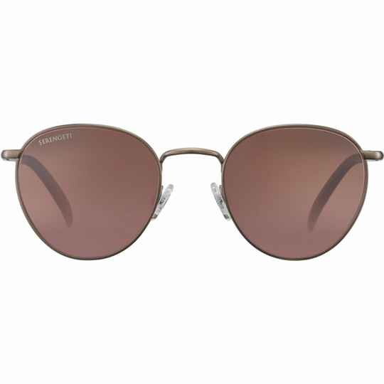 Serengeti Hamel Brushed Bronze Polarized Drivers Gradient 8928
