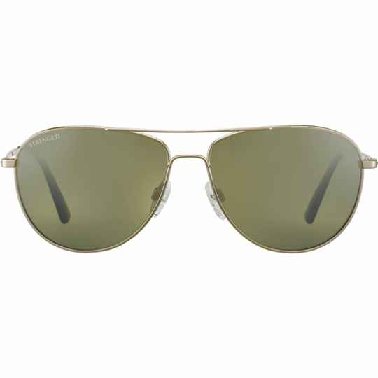 Serengeti Alghero Shiny Soft Gold Polarized 8542