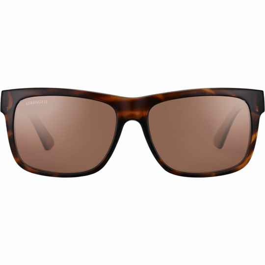 Serengeti Positano Shiny Dark Tortoise Polarized Drivers 8371