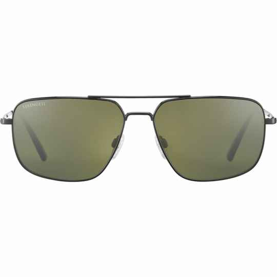 Serengeti Agostino Shiny Gunmetal Polarized 8827