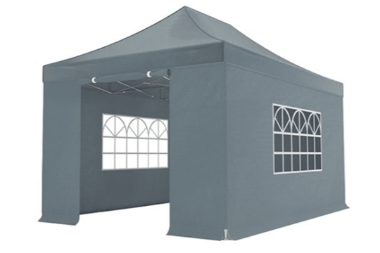 Partytent easy-up 3 x 4,5 meter