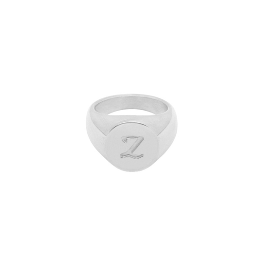 Ring Initial Zilver A tm Z