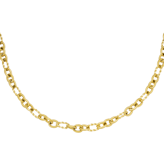 Ketting Criss-cross gold