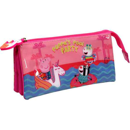 Peppa Pig Etui pool party 22 x 11 x 6 cm  polyester              Kidsspecial-merchandise