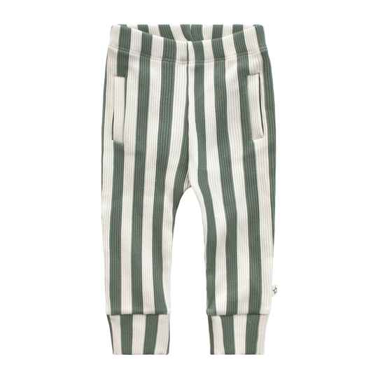 BOLD STRIPES - FITTED PANTS
