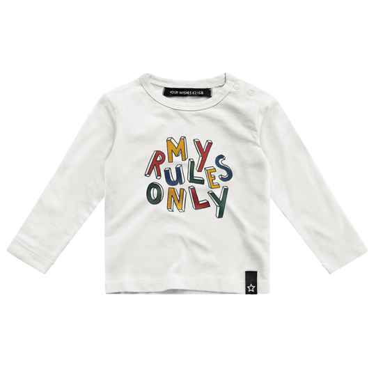 MY RULES ONLY - LONGSLEEVE