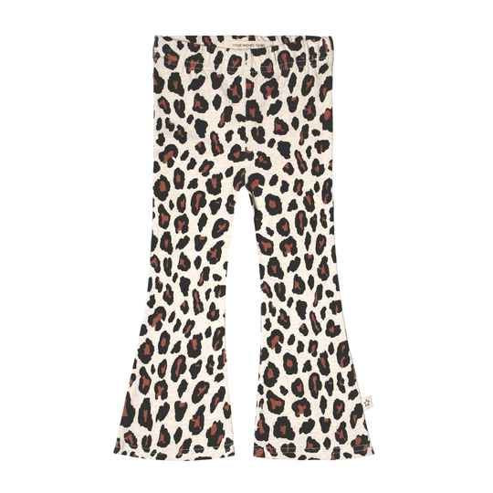 LEOPARD - FLARED LEGGING