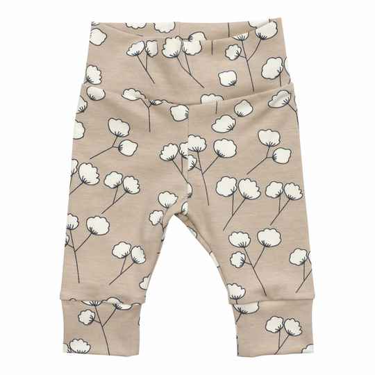 BROEKJE - COTTON FLOWER BEIGE